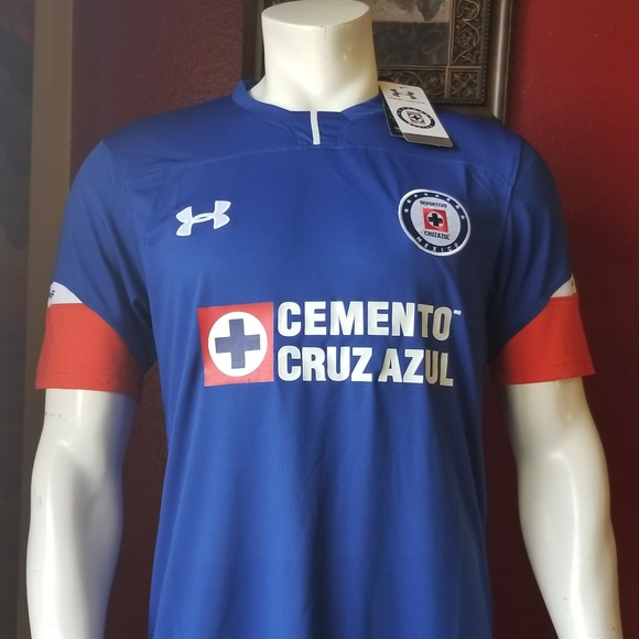 53079f9a37c Under Armour Shirts | Cruz Azul Home Soccer Jersey | Poshmark